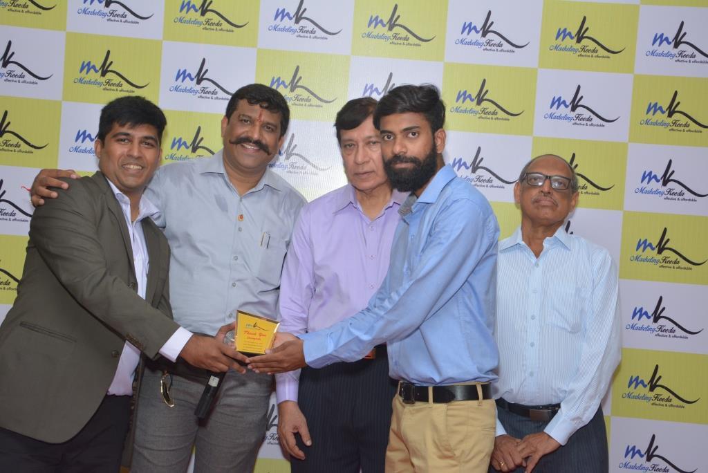 Marketing-Keeda-Award-Deepak-Vserve-solutions-bajaj-finserv