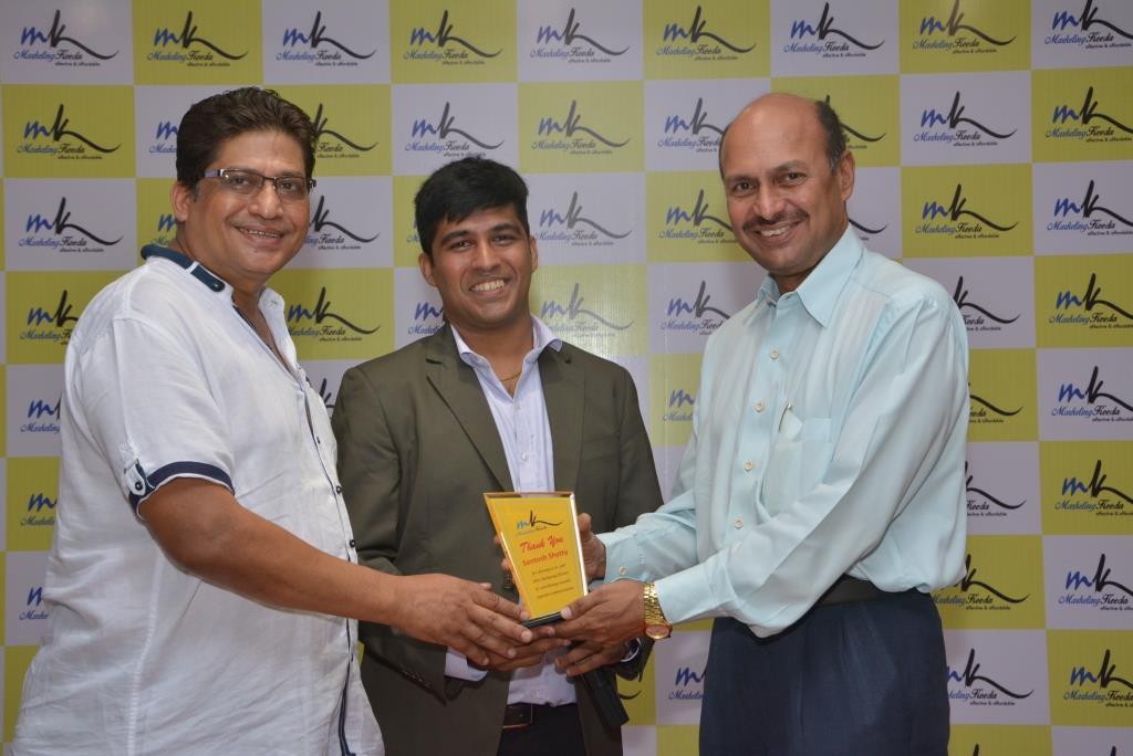 Marketing-Keeda-Award-Santosh-Shetty-AHAR-lions-club